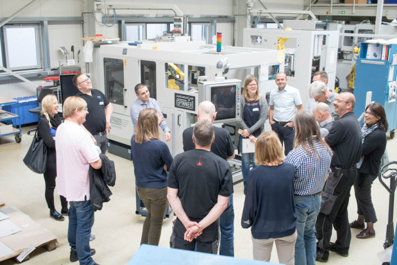 Praxistage bei Spinner Automation